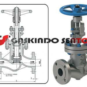 jual below sealed globe valve