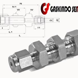 jual reducing bulkhead swagelok